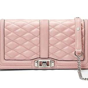 Rebecca Minkoff Love Clutch Blossom Blush Pink